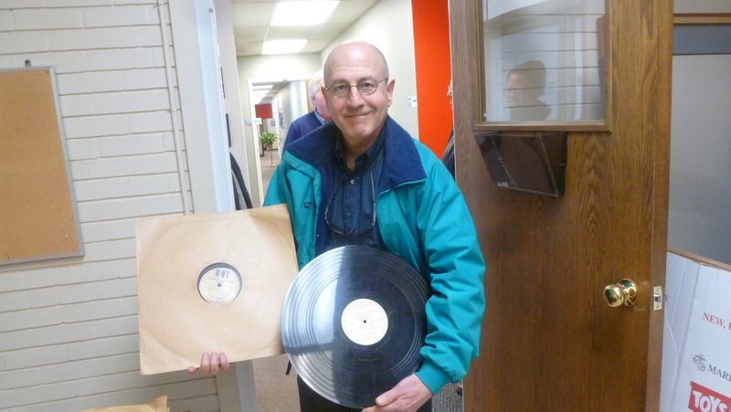 Doug Spyrison, Iowa Antique Radio Club & Historical Society, at WMT 3/2/2016