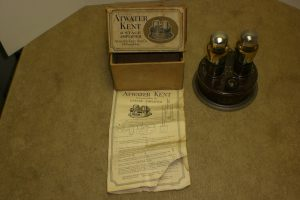 Atwater Kent 2 Stage Amplifier with Box, Tubes and Instructions