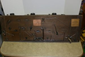Atwater Kent Model 10C No. 4700 Pooley Breadboard Bottom View