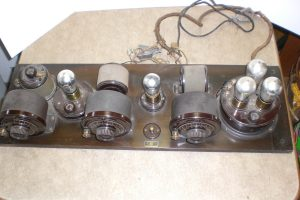 Atwater Kent Model 10C No. 4700 Pooley Breadboard Top View
