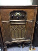 Atwater Kent Model 85 in D Style cabinet