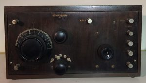 Crosley Model 51, Wooden Front Panel