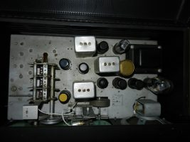 Hallicrafters S-40A Interior View