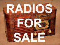 Antique radios for sale